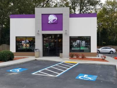 Taco Bell - Front View