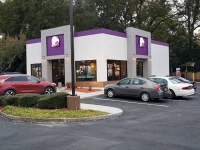 Taco Bell - Side View